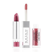 Skinn Cosmetics Twin Set Collagen Boost Lipstick & Wet Lips Gloss - Shade