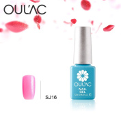 2017 New Soak off Gel Oulac Top Popular Pearl Colour Gel Nail Polish