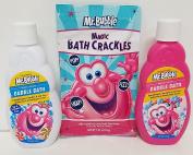 Mr. Bubble Bubble Bath BUNDLE extra gentle magic bath crackles 70ml