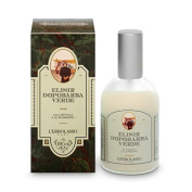 Green After-shave Elixir With Birch and Rosemary L'Erbolario Italy 100ml