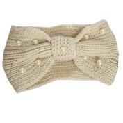 Julie & Coco Women's Chunky Cable Knitted Turban Headband Ear Warmer Head Wrap