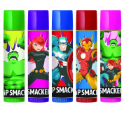 Lip Smacker Disney Avengers Storybook Collection, 5 Count