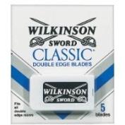 Schick Wilkinson Sword Double Edge Blade Refills-5 ct