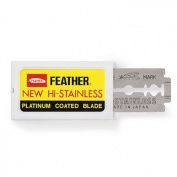 Feather Double Edge Razor Blades, 20 Pack