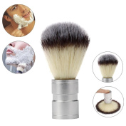 Hunputa Professional Boar Bristle Shaving Brush, Stainless Metal Handle