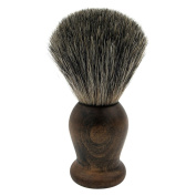 WEISHI Shaving Brush, 100% Pure Mixed Badger with Rosewood Wooden Handle shaving brush.