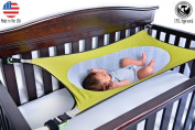 Crescent Womb Infant Safety Bed, Lime