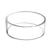 7.6cm Basketball Football Volleyball Softball Soccer Ball Plastic Acrylic Round Pedestal Display Stand Ring Holder