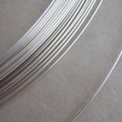 20 Gauge Half Hard Round Sterling Silver Wire 3m