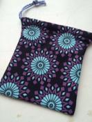 Drawstring bag ~ Handmade Medium size ~ Ravenz Roost hand made item
