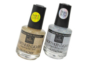 Northern Light Hologram Top Coat Duo Gold & Silver - Size 15ml