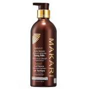 Makari Exclusive Skin Toning Milk 500ml – Lightening, Brightening & Toning Body Lotion with Organiclarine – Advanced Active Intense Whitening Treatment for Dark Spots, Acne Scars, Sun Patches,