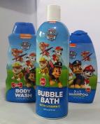 Paw Patrol bath bundle-3 items