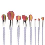 .   Sunfei Makeup Brush Sets,New Fashion Brushes Mermaid Dream Vegan Makeup Set Clam Case Shell Type