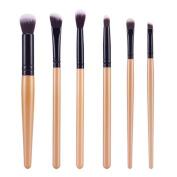 6Pcs Cosmetic Brush; Mosunx(TM) Makeup Brush Sets Kits Tools