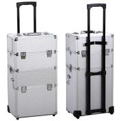 Gotobuy 3 in 1 Makeup Beauty Nail Case Cosmetics Trolley Bag Box