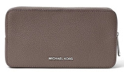 Michael Kors Jet Set Travel Leather Cosmetic Pouch, Cinder