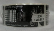 Tammy Taylor Double Thick Nail Form Black 200ct