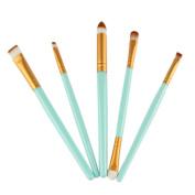 Toraway Pro 5pcs Makeup Brush Set tools Make-up Toiletry Kit Wool Make Up Brush Set
