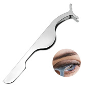 IBEET Eyelash Eyebrow Tweezers,False Eyelash Extension Stainless Auxiliary Clip Tweezers Nipper