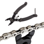 Bike Missing Link Pliers Bicycle Chain Quick Link Open Master Link Tool Black