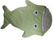 Green Infant Baby Toddler Sleeping Bag Shark Whale Swaddle Blanket