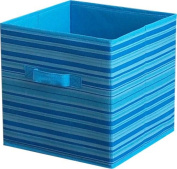New Fabric Cube Bins Home Storage Box Household Organiser Collapsib Basket Container