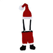 Tangc Newborn Baby Boys Girl Knit Hat Christmas Pants Santa Outfits Costume Photo Prop