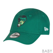 New Era Marvel Hulk Hero Essential 9Forty Elasticback Cap Infant Seaugling