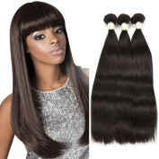 MORICHY 7A Brazilian Hair Straight 3 Bundles 100% Unprocessed Human Hair Extensions Virgin Hair Bundles