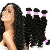 Fashion Queen 4pcs lot Peruvian Virgin Hair Deep Wave Grade 7A Unprocessed Deep Curly Human Hair Weave Bundles