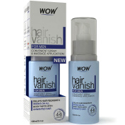 New WOW Hair Vanish For Men - All Natural Hair Removal Cream, Lotion Moisturises Skin & Reduces Growth, Hair Thickness & Appearance - New Improved Formula