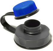 humangear CapCap Wide Mouth Water Bottle Replacement Cap - BLUE / GREY