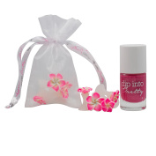 The Original Pedi Spacers & Nail Polish Set - Passionately Pink