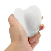 Yoyorule Silicone Heart Cleaning Glove Makeup Washing Brush Scrubber Tool Cleaners