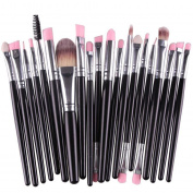 .  20pcs/set Makeup Brush Set,Canserin Make-up Wool Toiletry tools Kit