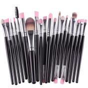 .  20pcs/set Makeup Brush Set,Canserin Make-up Wool Toiletry tools Kit