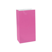 Large Paper Favour Bags Bright Pink