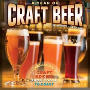 Year of Craft Beer 2018 Wall Calendar