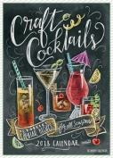 Craft Cocktails 2018 Wall Calendar