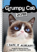Grumpy Cat 2018 Engagement Calendar