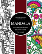 Mandala Heart and Swear Word Coloring Books for Adults