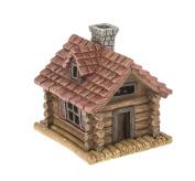 Ganz Home & Garden Fairy Outdoor Collection Light Up Log Cabin Figurine