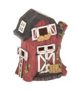 Ganz Home Decor Garden Fairy Farm Light Up Barn Figurine