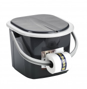 Branq 15.5 Litre Travel/Camping Outdoor Toilet Pail