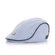 Cute Kids Baby Infant Boy Girl Beret Stripe Cap Baseball Peaked Hat Casquette