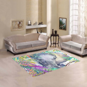 JC-Dress Area Rug Elephant Modern Carpet 1.5mx1.2m