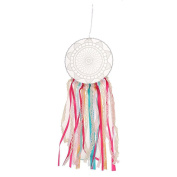 FENICAL Bohemia Ribbon Lace Dream Catcher for Home Wall Hanging Decoration