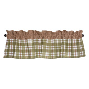Trend Lab Deer Lodge Window Valance, Green