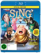 Sing (Blu-ray/UV) [Region B] [Blu-ray]